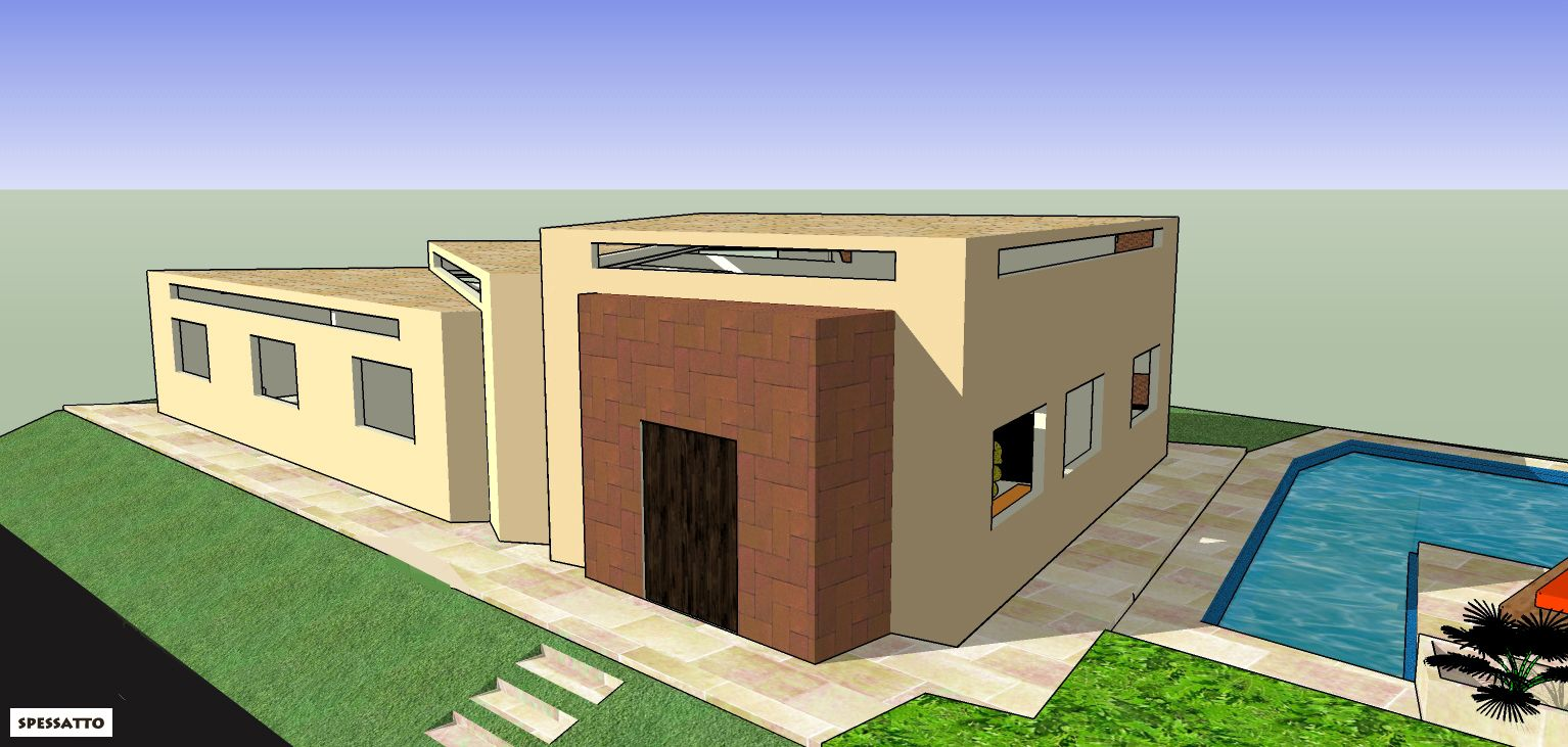 Casa Angelim - Projeto de Claudia Spessatto