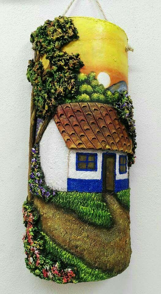 Pintura En Tejas Tejas Pinterest Art Crafts And Decoupage