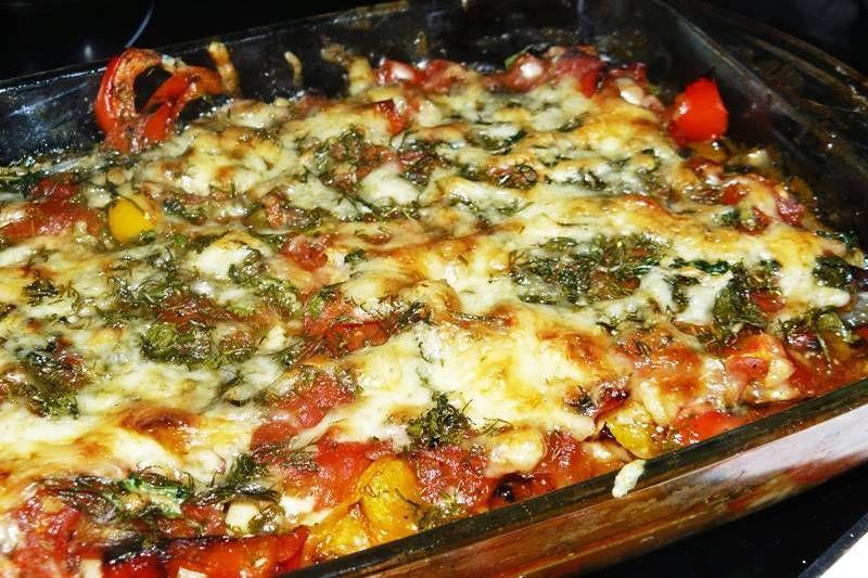Баклажаны с мясом и овощами в духовке рецепт с фото ...