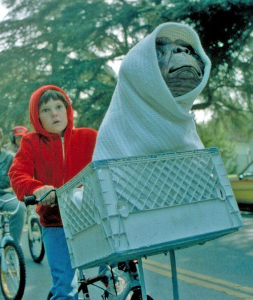 #ET and Elliott forever.  #Spielberg  #ETTheExtraTerrestrial  #HenryThomas  #80smovies