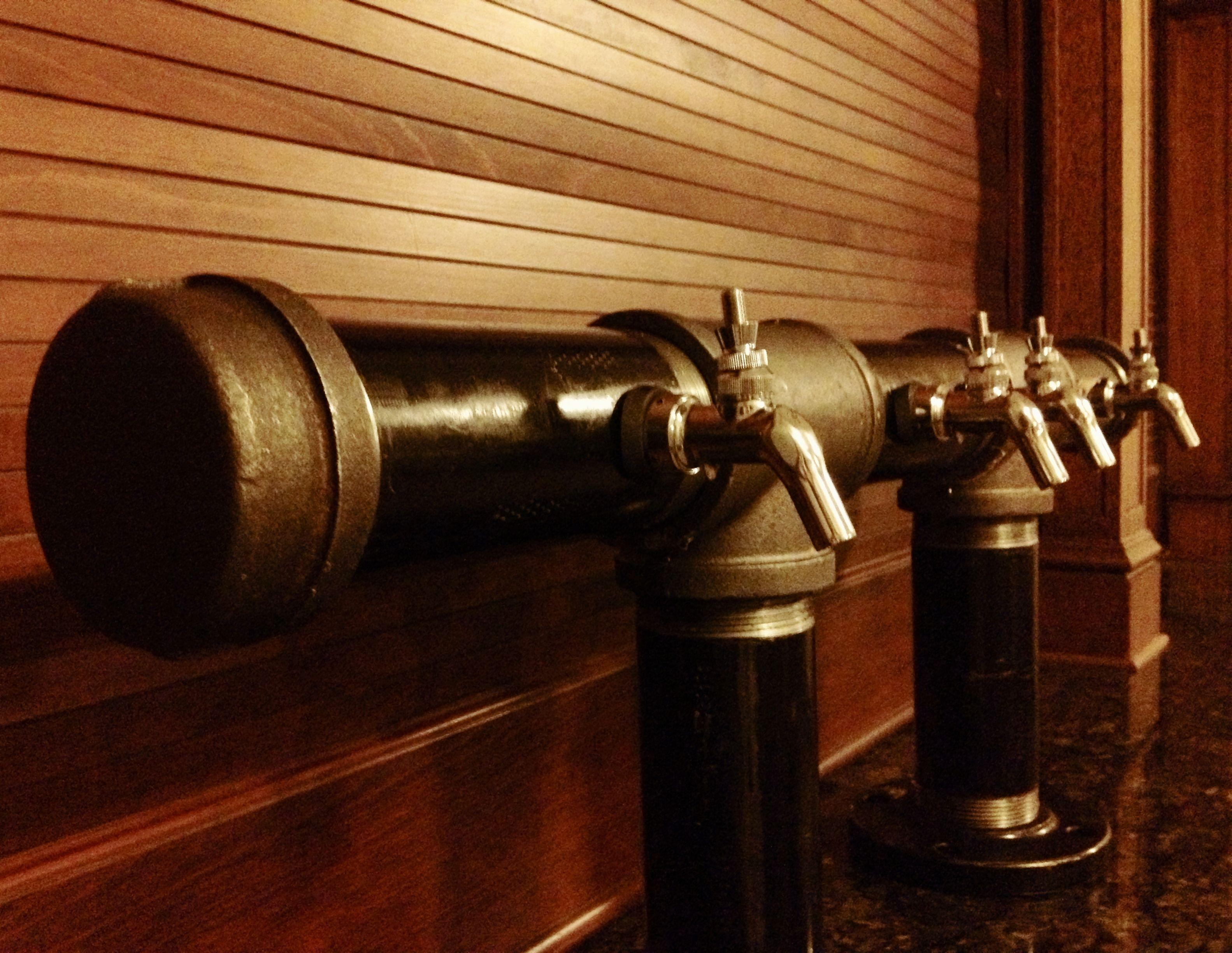 Custom Black Iron Pipe Tap Tower w/Perlick taps... #bar #beer ...