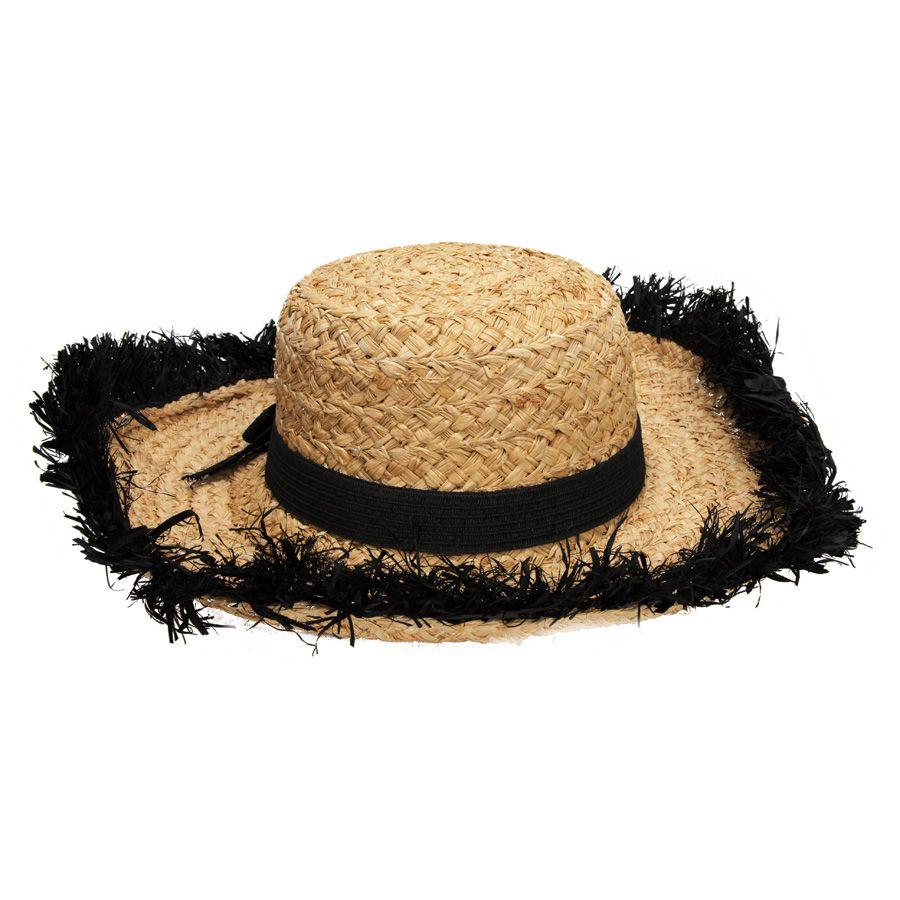 dc387b20c kate spade Fringed Straw Sun Hat - #VonMaur - A summer must have ...