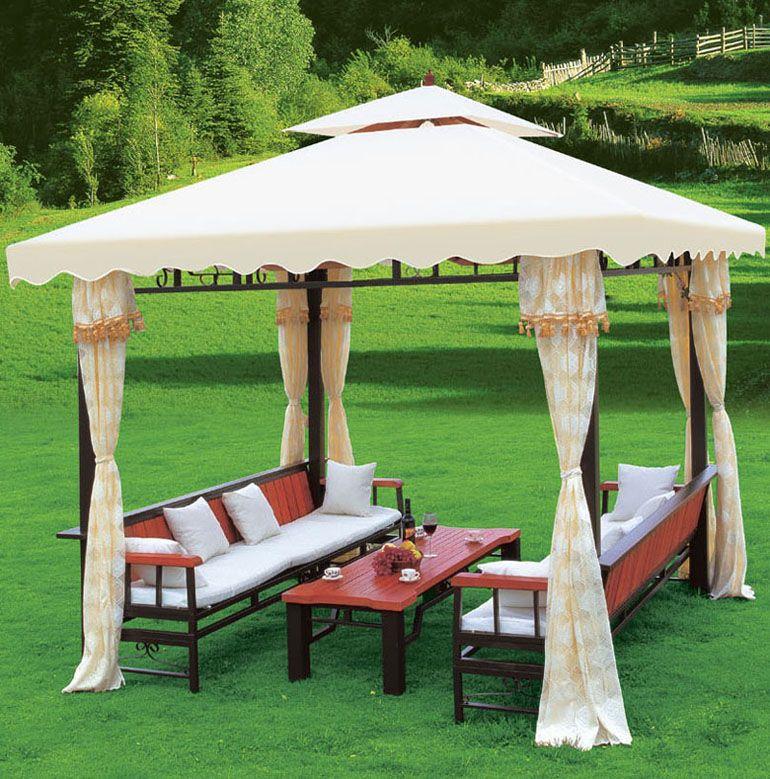 Luxury Garden Pavilion Gazebo/tent, View Garden Line Gazebo, Chuangcai .