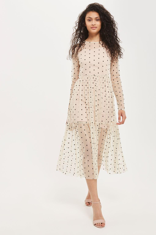 c0ef204eabef Lola Midi Overlay Dress by Lace   Beads - Dresses - Clothing ...