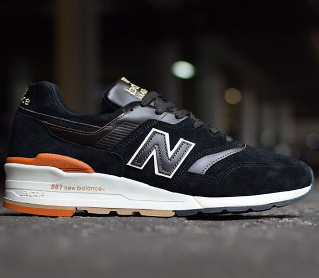 77d671a86e56 New Balance 997 - Black   Brown - White   Sneakers   New balance ...