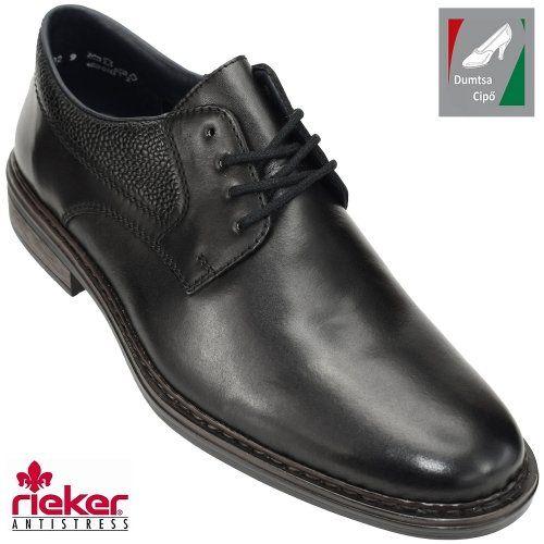 6af742e848 Rieker férfi bőr cipő 17628-00 fekete | Rieker cipő webáruház