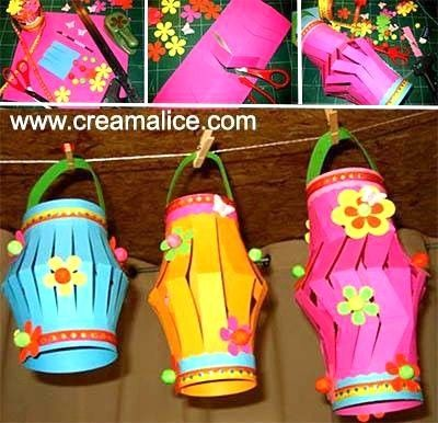 DIY Lanternes Papier Creative crafts, Craft and Diwali craft
