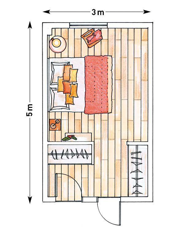 Dormitorios Con Vestidor Distribucion Dormitorios Con Vestidor
