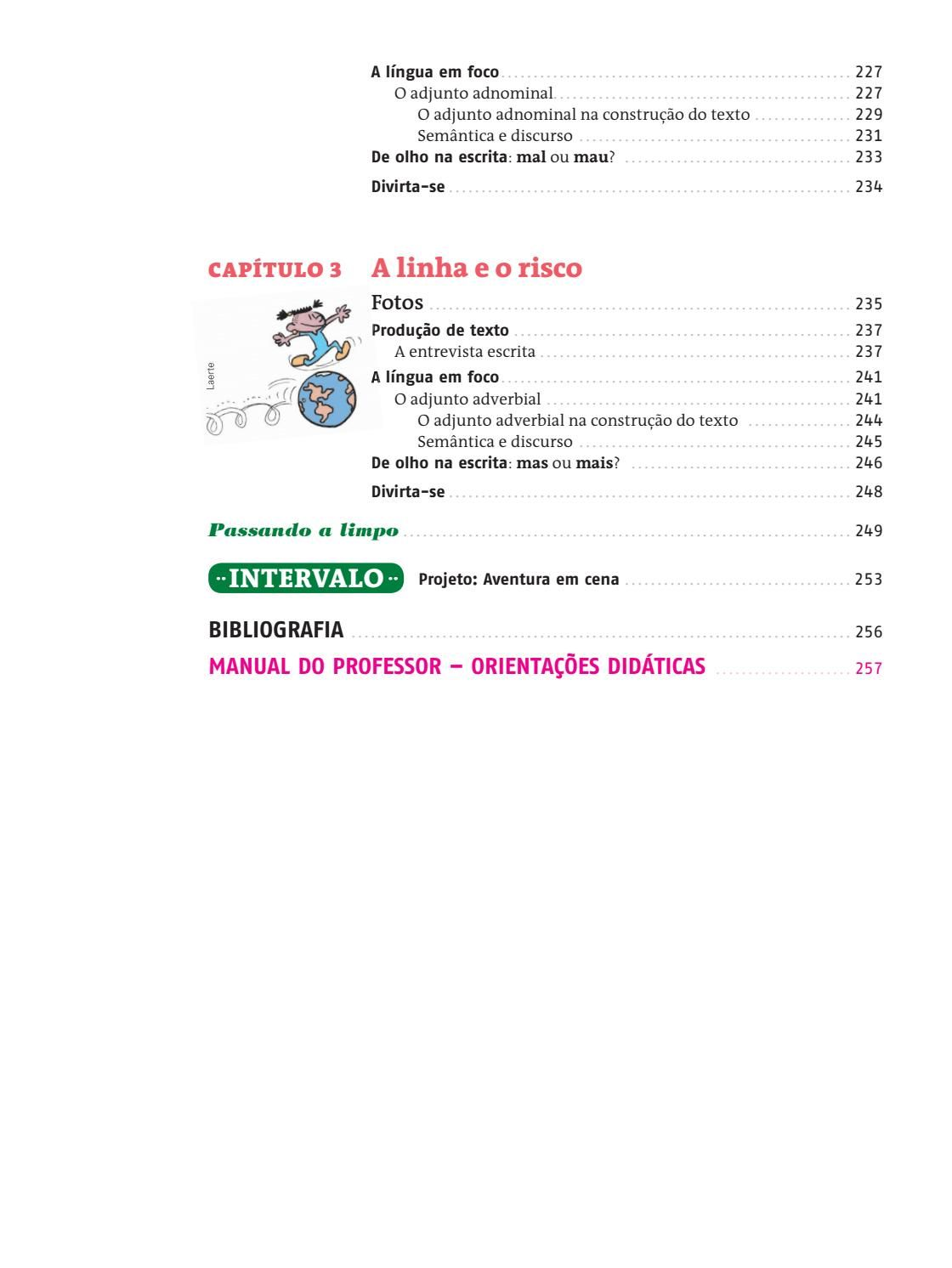 Pin Em Livro De Portugues