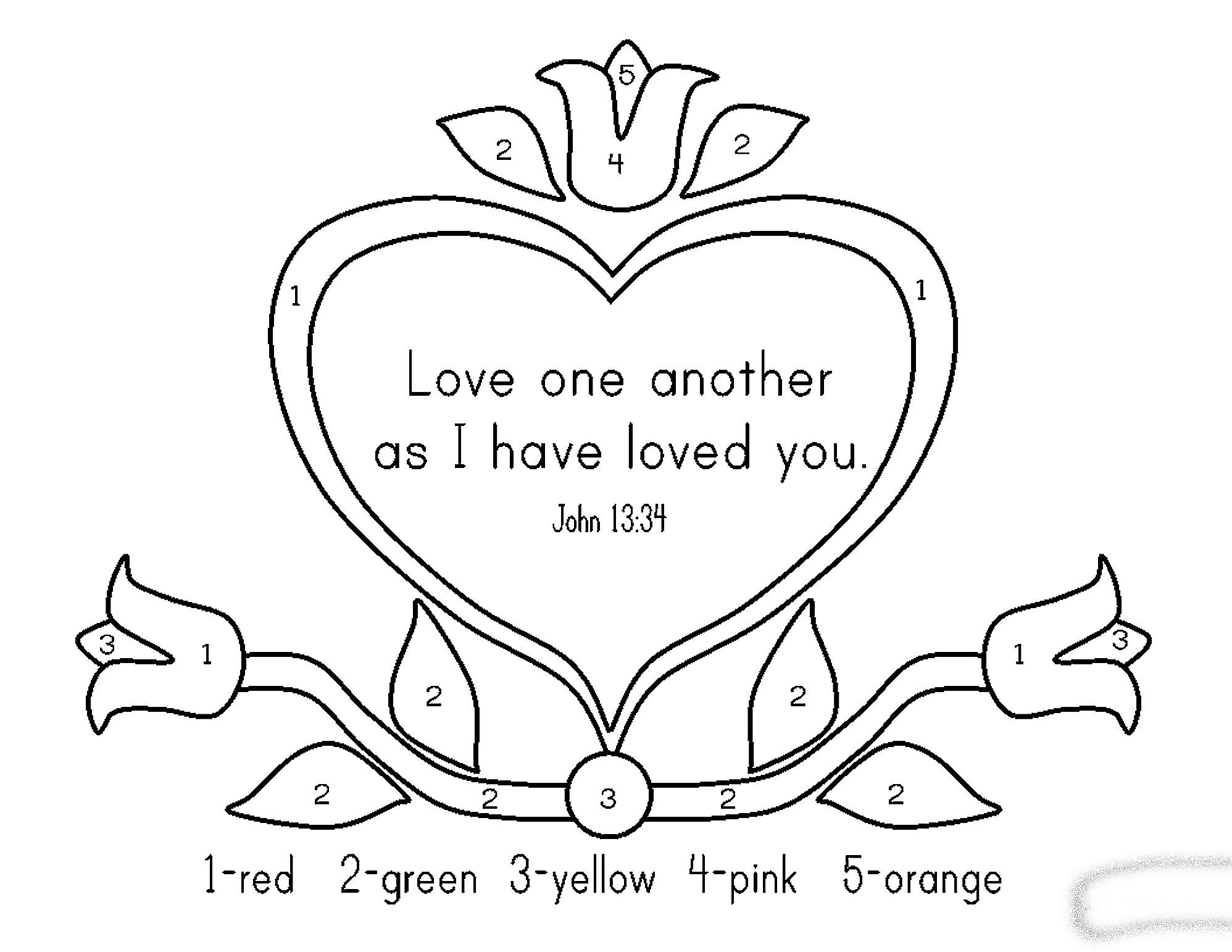 Memory Verse Coloring Pages