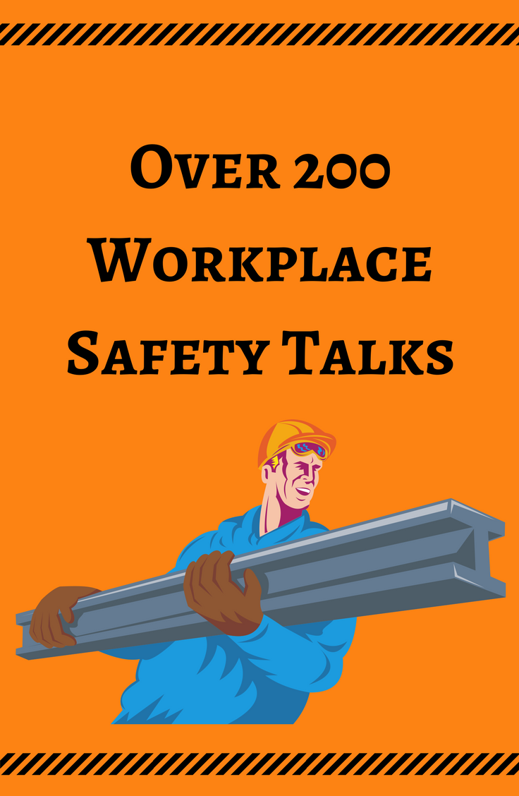 Free Safety Talks and Toolbox Talk Meeting Topics Print