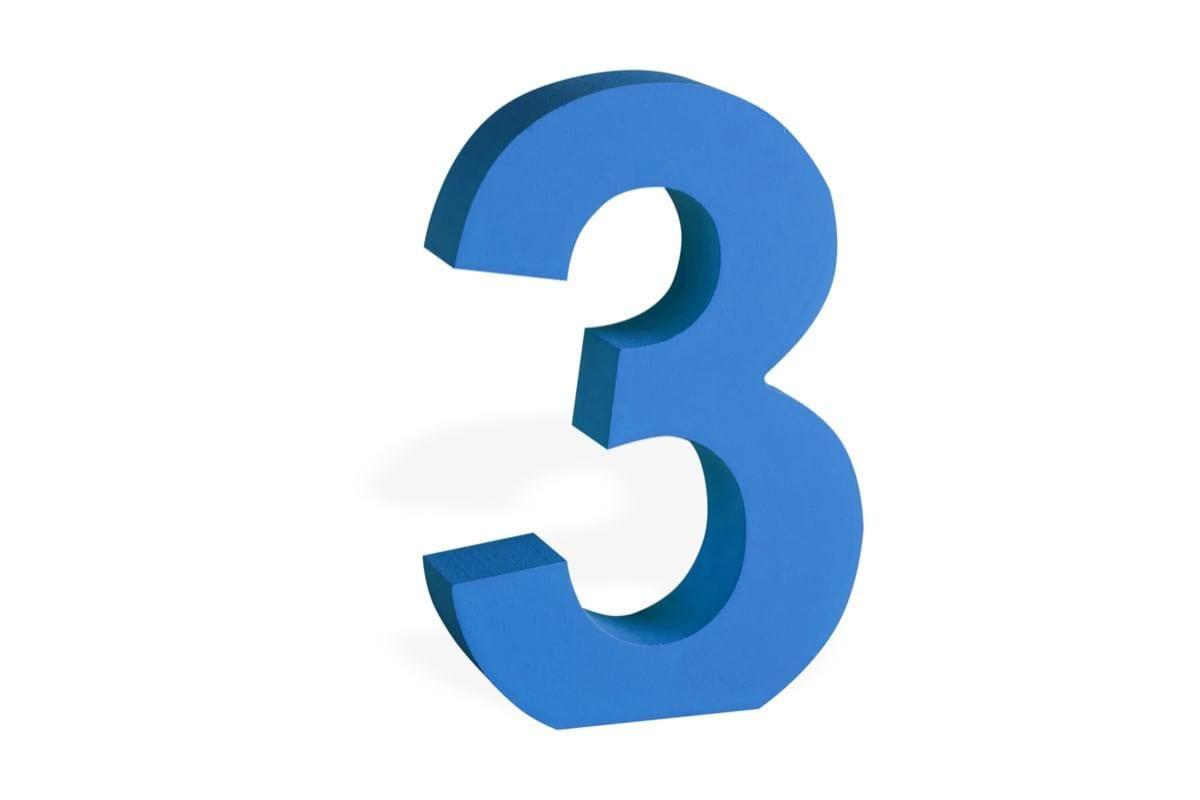 ما تفسير رقم ثلاثة 3 في المنام تفسير رقم 3 ثلاثة حلم رقم 3 بالمنام حلم رقم 3 للحامل Symbols Letters Digit