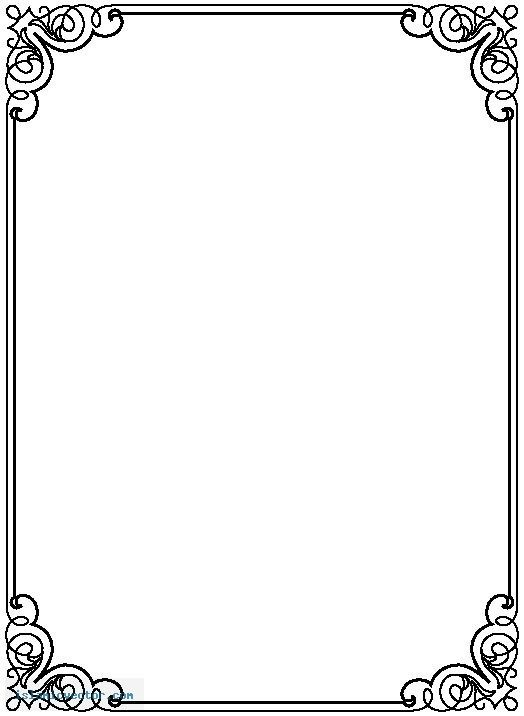 Top page border clipart