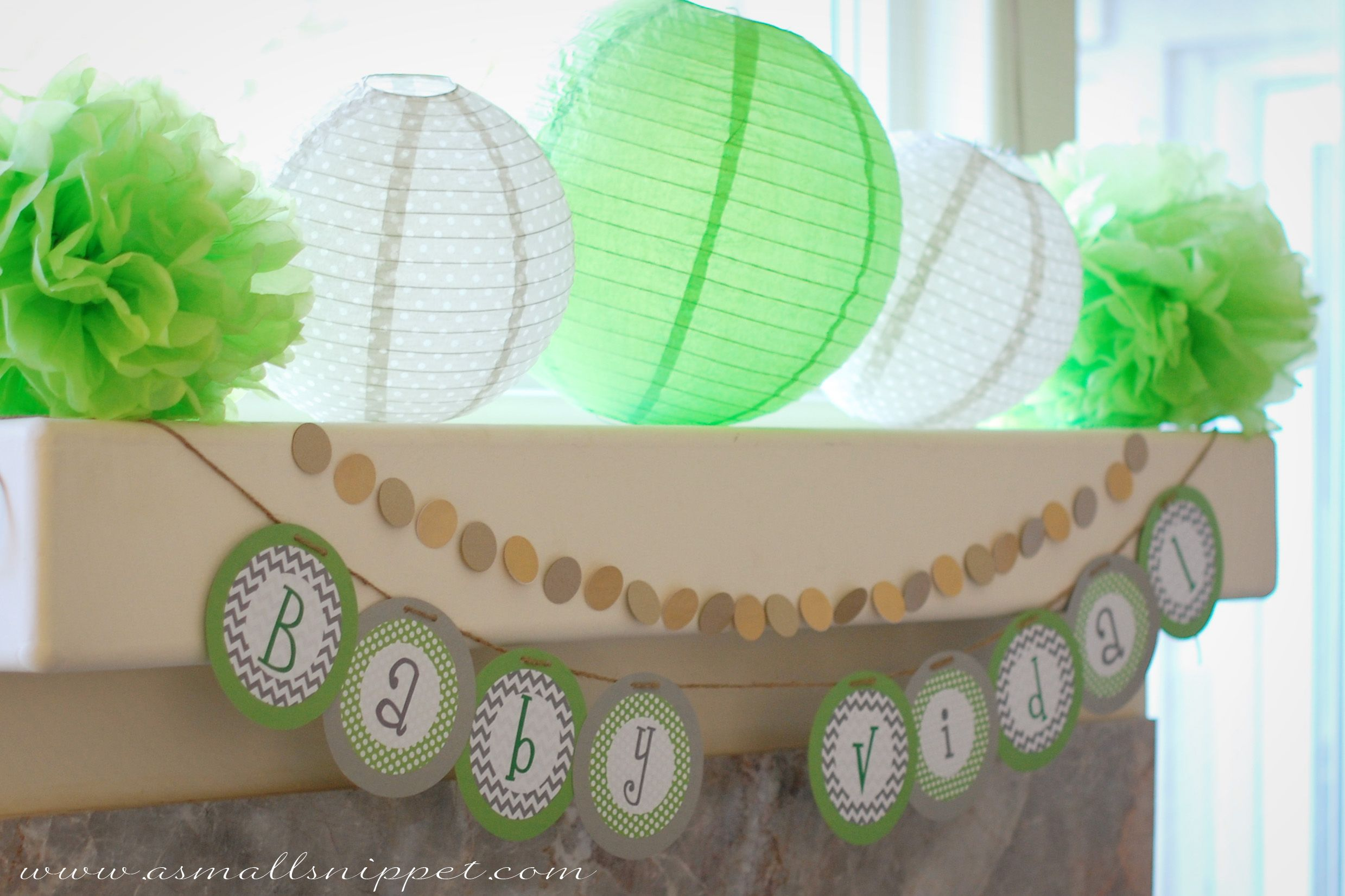 Milk & Cookies Baby Shower | A Small Snippet