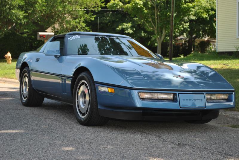 1985 20 23 Blue 2 Tone Chevy Corvette Coupe C4 Corvette For Sale