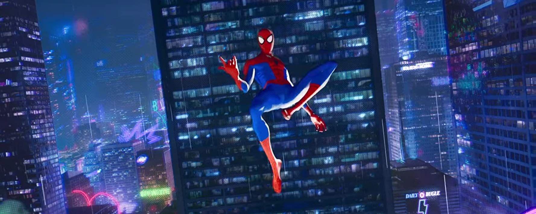 Jake Johnson In Spider Man Into The Spider Verse 2018 Spider Verse Spiderman Art Spiderman