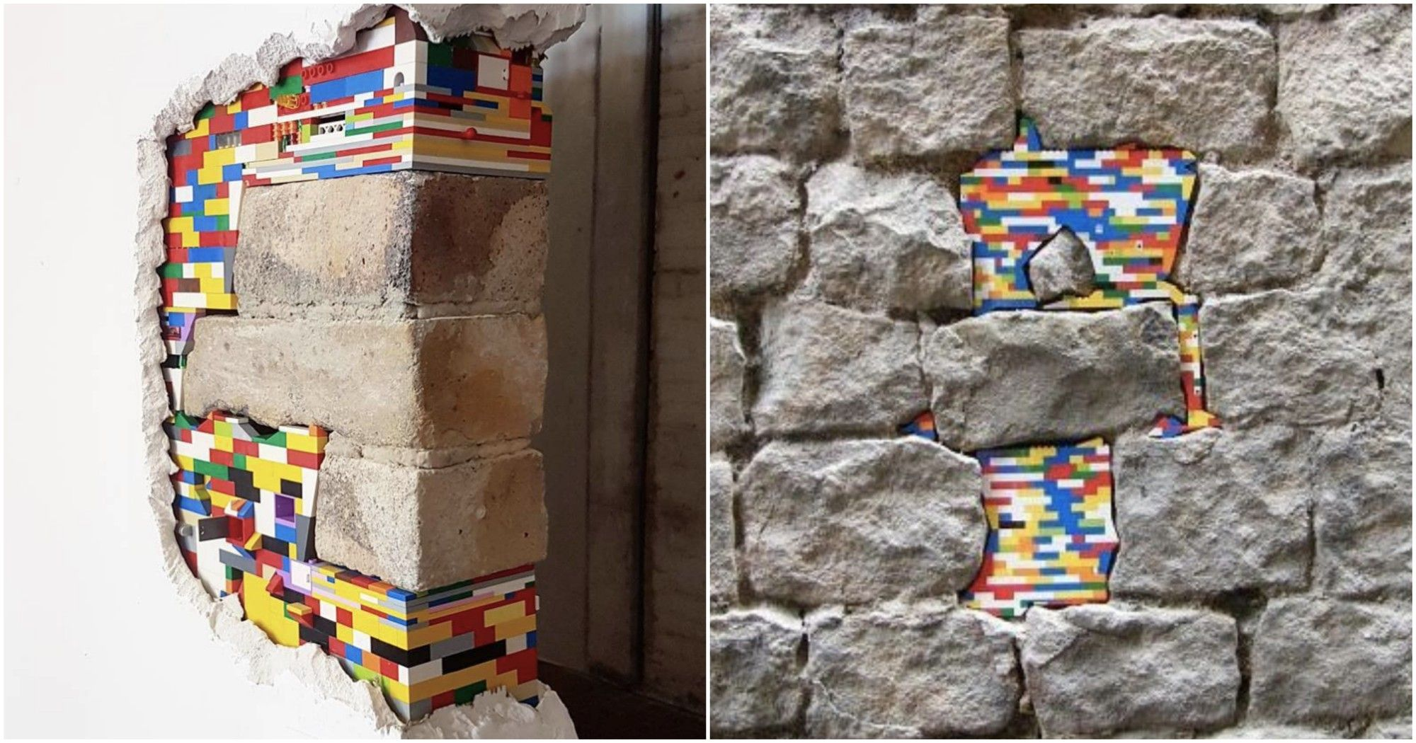 Using LEGO To Save Crumbling Cities And Buildings