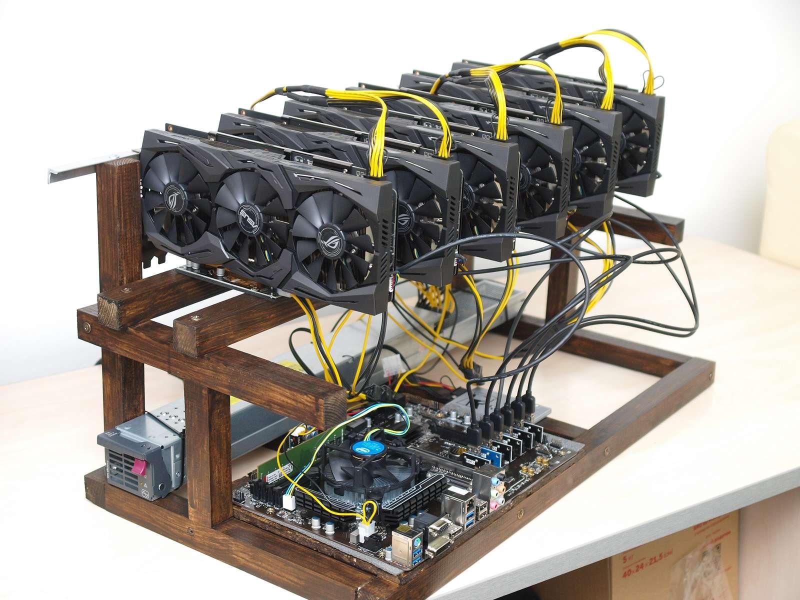 Bitcoin miner de la 5 Lei