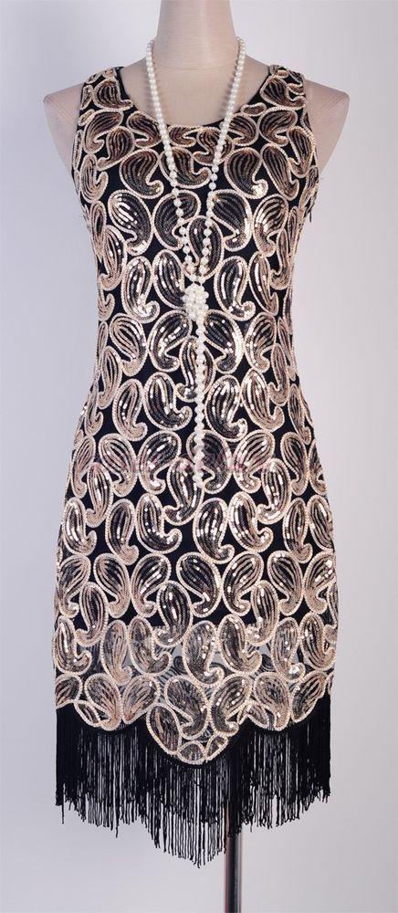 088a85ecb20 1920 s Flapper Party Gatsby Downton Abbey Sequin Tassel Plus Size Dress RD  3239  rougeroses  Clubwear
