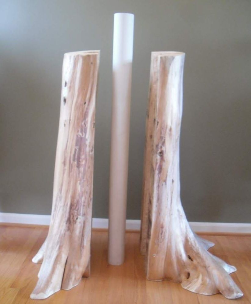 Disguise Basement Pole As Tree - Google Search