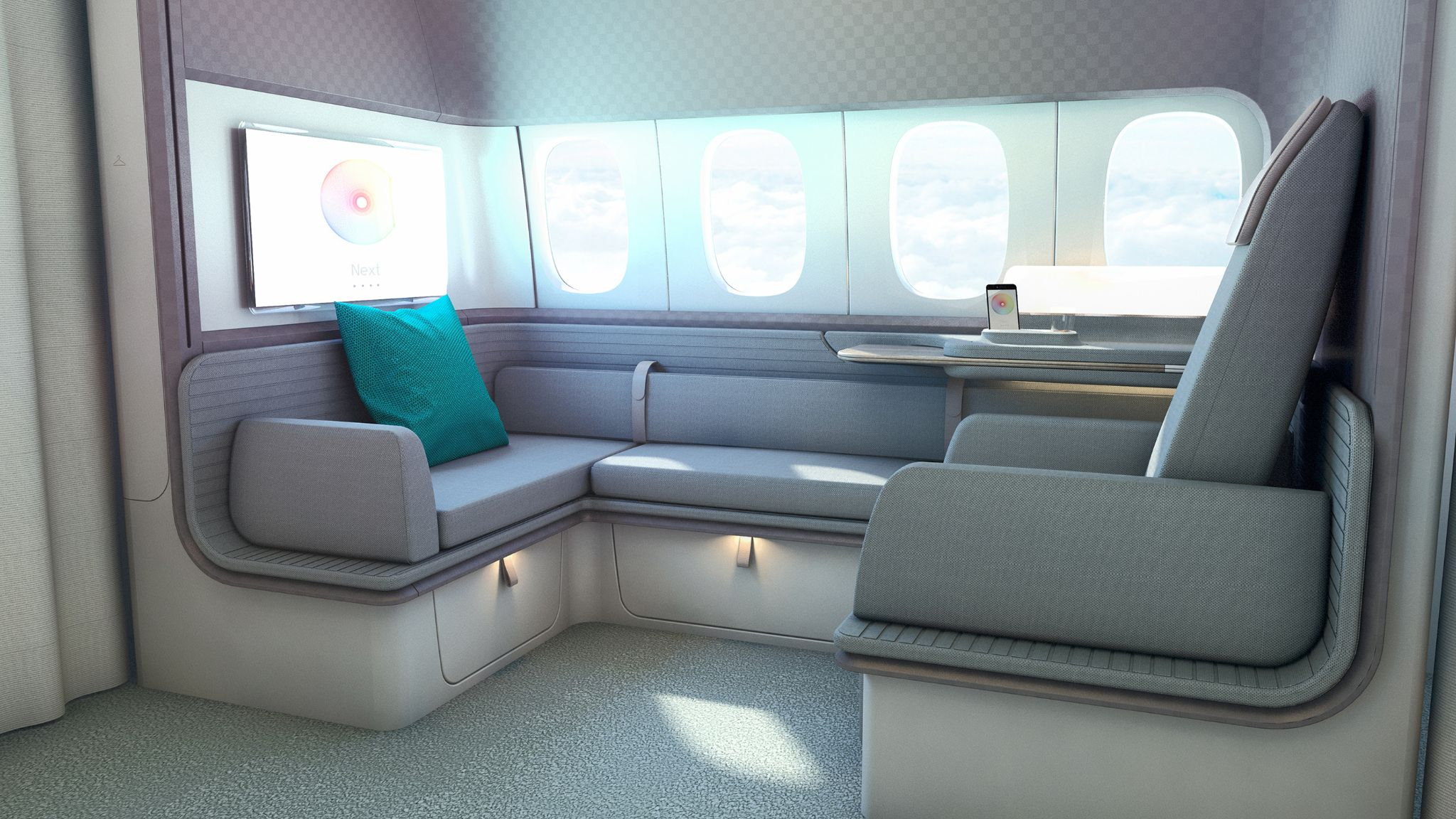Concepts première classe Cathay Pacific OHLALAIR LE
