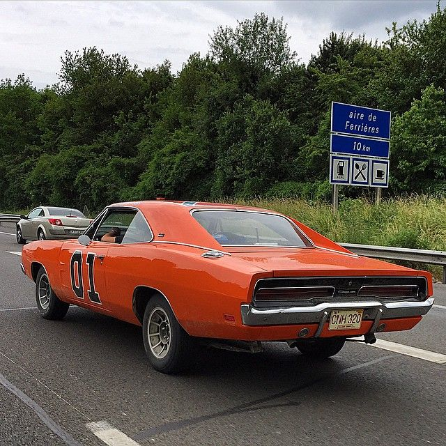 General Lee Orange Dodge Charger Muscle Car Don T Mess With Auto