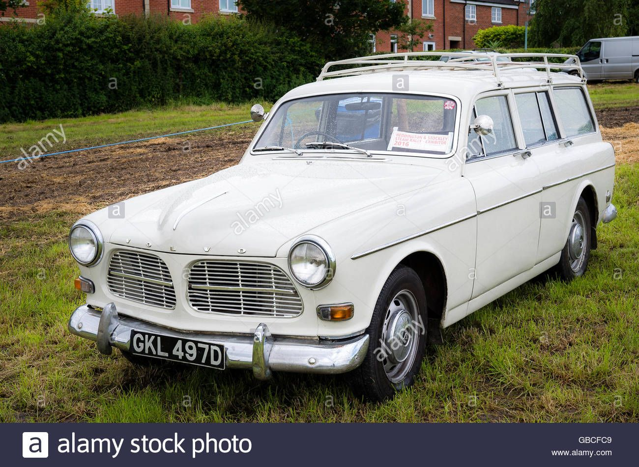 Fifty years old Volvo 161 Amazon estate car at an English show ...