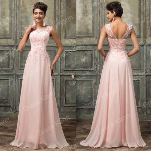 pick up 73bf0 8465d Damigella Vestito Da Festa Abito Elegante Donna Cerimonia ...