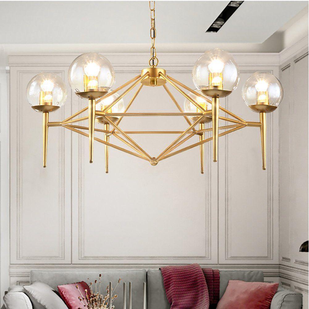 Wrought iron island chandelier pendant lighting metal ceiling light