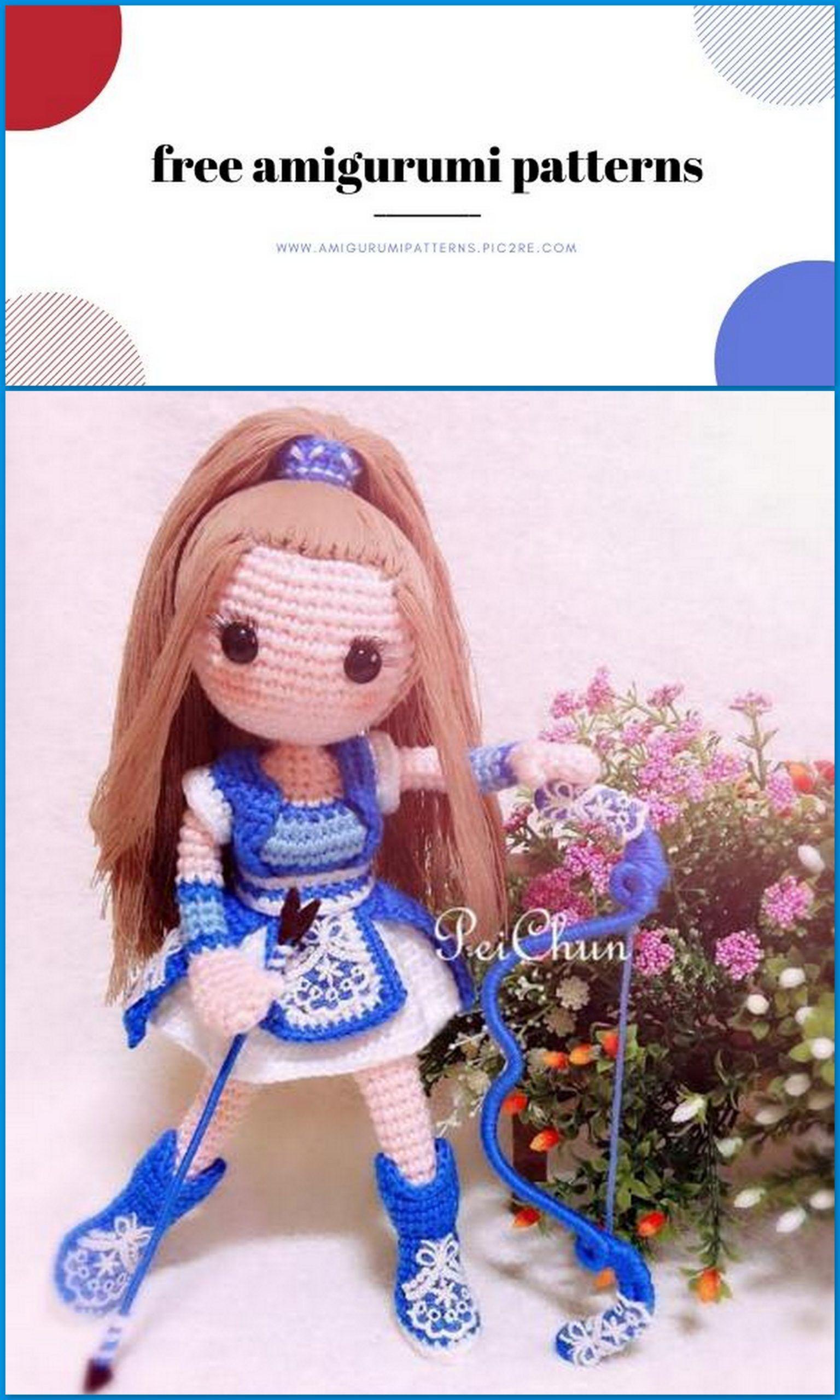 Little Friends From Ocean Amigurumi Crochet Pattern:Amazon:Kindle ... | 2560x1536