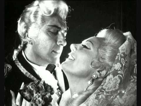 "Renata Tebaldi & Franco Corelli ""Love Duet Act I"" Tosca"