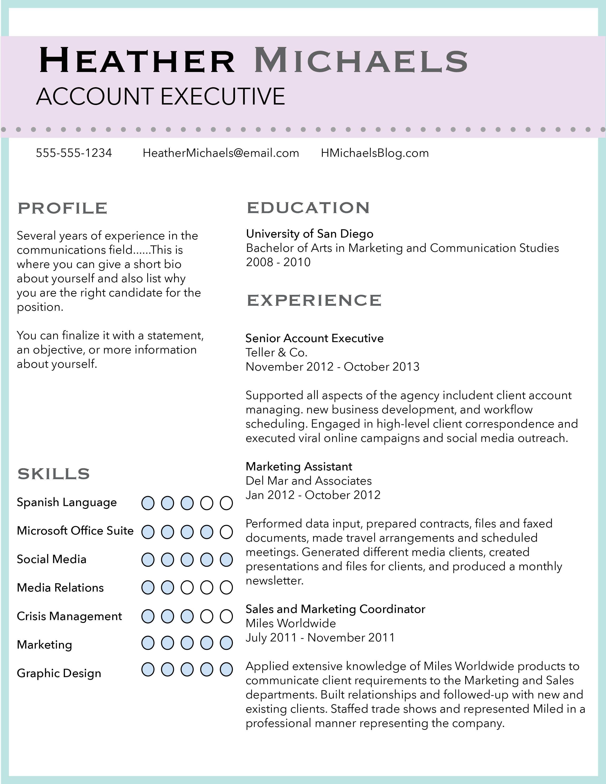 Resume Design Custom Resume Designs By Resumaker On Etsy Com Shop Resumaker Communication Studies Resume Resume Design