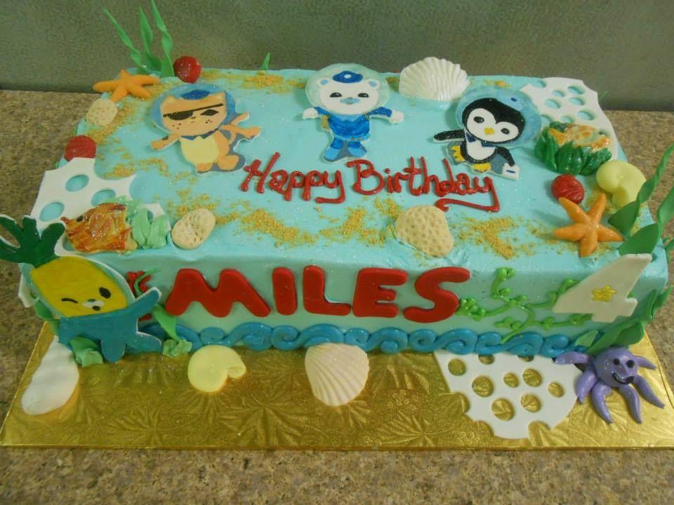 Octonauts Sheet Cake Madison 3rd birthday Pinterest Birthdays
