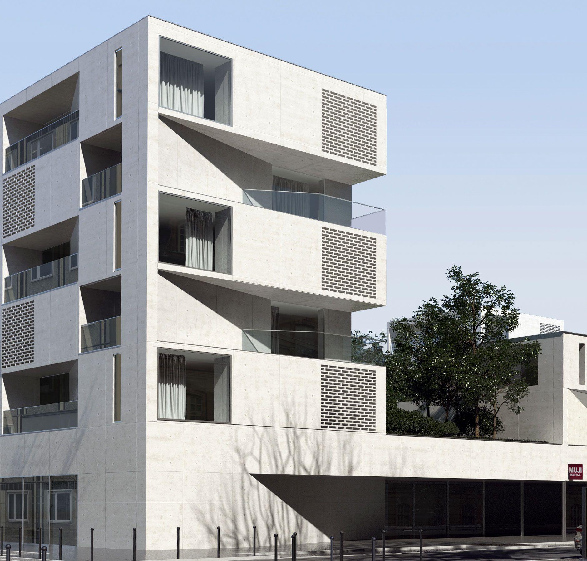 Logements collectifs L\'ilot Seguin - aum architects | Low rise ...