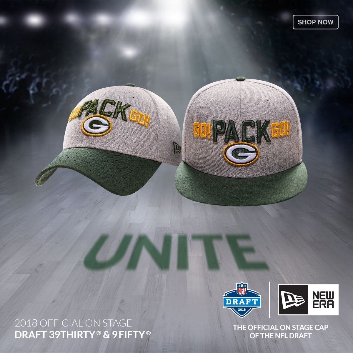 brand new d1977 2dc5d ... clearance get ready for the draft with the new era 2018 nfl draft cap  at lids