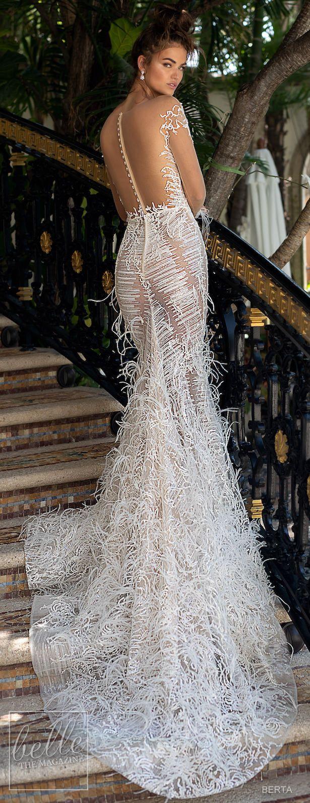 42e1cbedd1 BERTA Spring 2019 Wedding Dress Miami Bridal Collection. Encuentra este Pin  y muchos más en vestidos de novia ...