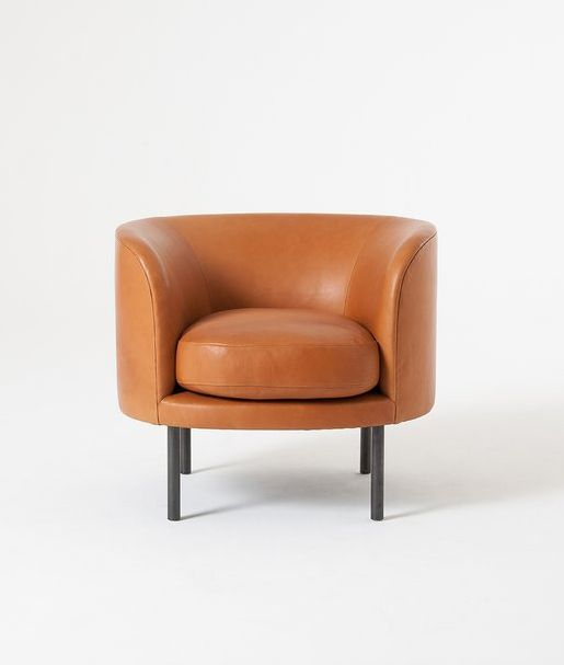 Continuous Armchair Furniture Chair Leather Dining Room Chairs