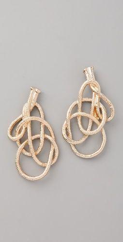 orly genger by jaclyn mayer // rope earrings