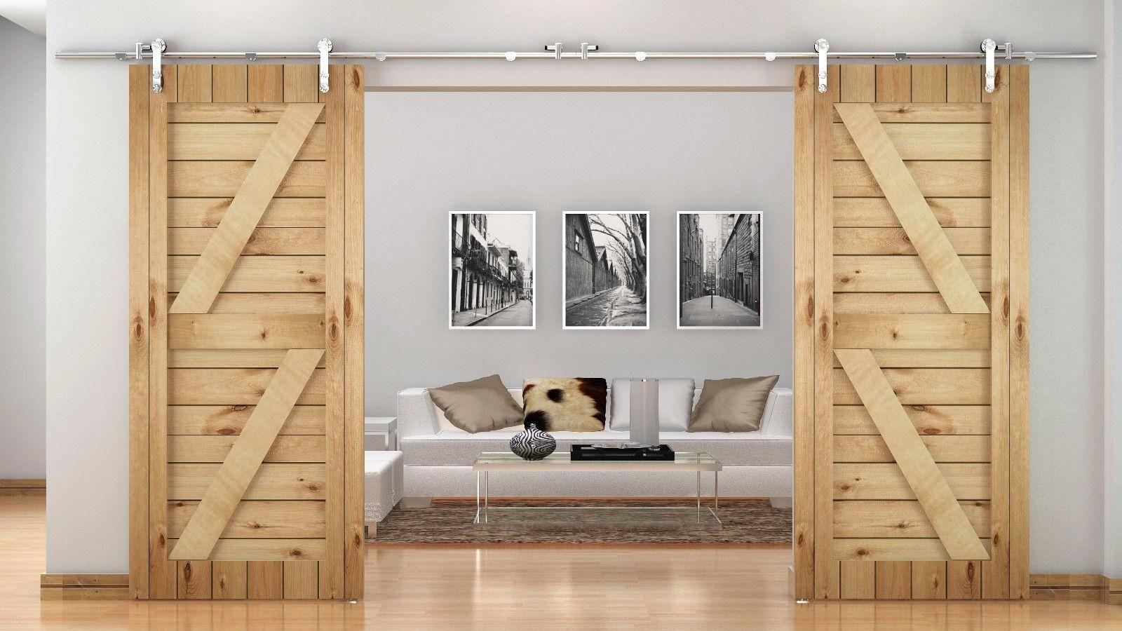 Pole Barn Double Door Track Doorways Pinterest Barn And Doors
