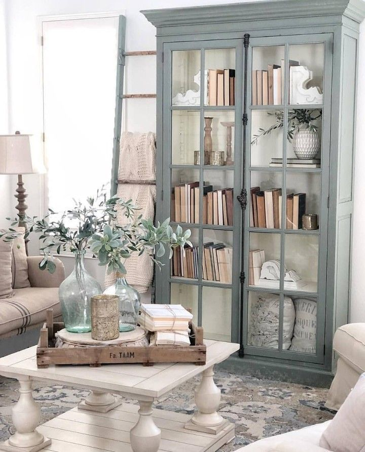 "Farmhouse Is My Style on Instagram: ""Earth tones are calming and cozy in this charming modern farmhouse living room. (Photo credit @carcabaroad) ��️������������…"""