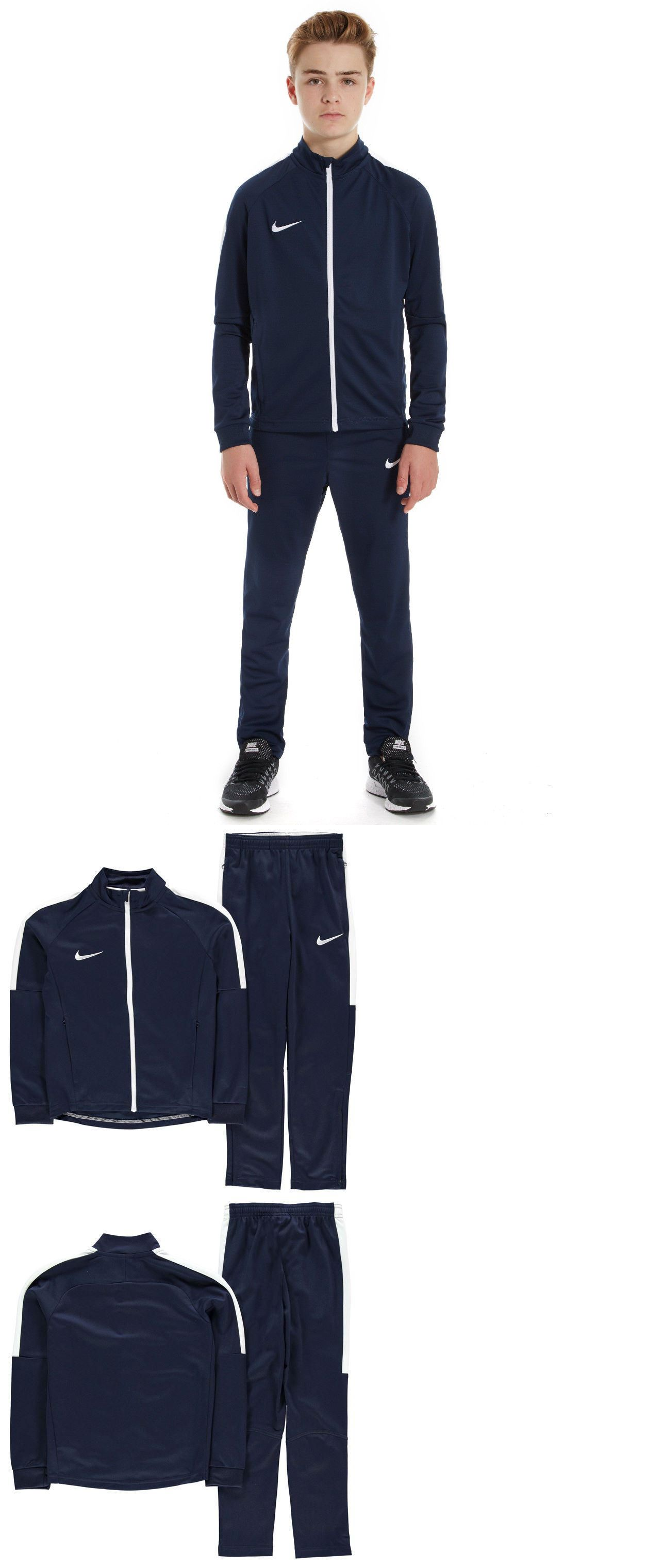 Other Boys Clothes Sizes 4 1067: Nike Academy Warm Up Tracksuit Junior Boys  Size 12