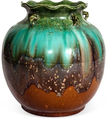 Glazed Ceramic Pot on OneKingsLane.com