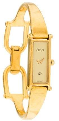 23f05146077  Gucci 1500 Series  Watch. Stainless steel 14mm x 30mm Gucci 1500 Series  watch featuring a quartz movement