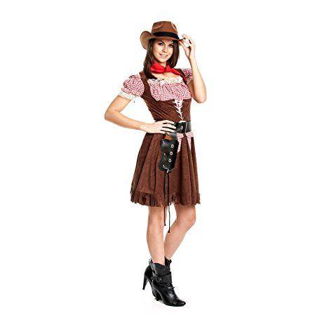 kost mplanet cowgirl kost m extra halstuch cowgirlkost m damen cowboy kost m gr e 36 38. Black Bedroom Furniture Sets. Home Design Ideas