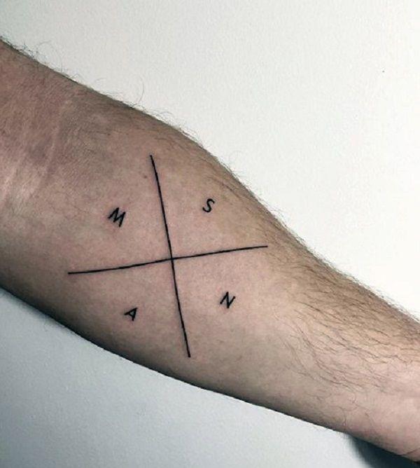 Tatuajes Minimalistas Para Hombres 2 Tatoos Tatua