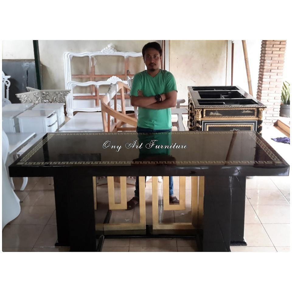 Contemporary design · versace dinning table ony art furniture indonesia kami melayani furniture dengan kualitas ukir dan