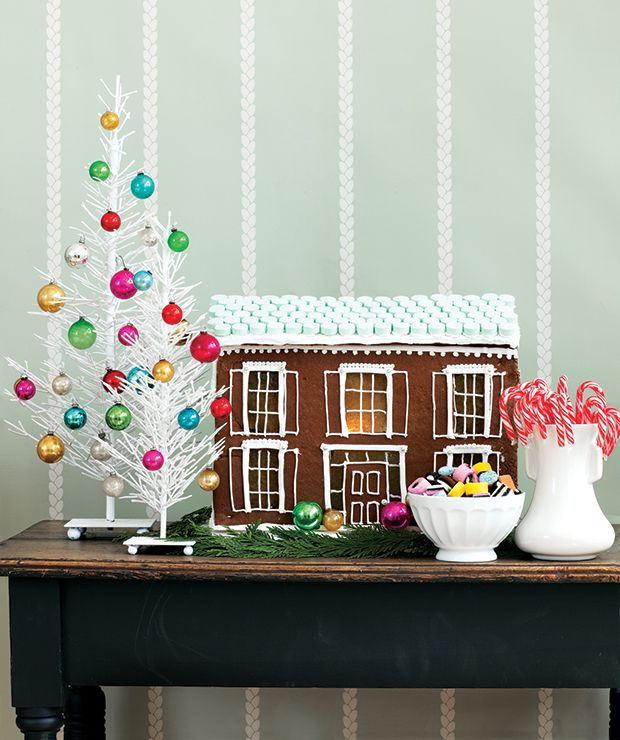 50 Holiday Decorating Ideas From The House  Home Archives - christmas decorating ideas
