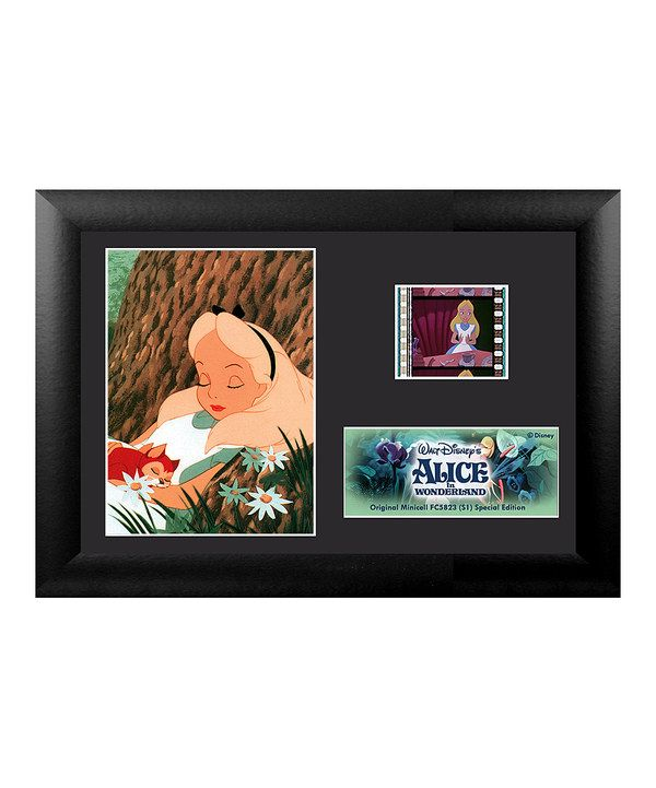 Look at this Alice In Wonderland FilmCells™ Framed Wall Art on #zulily today!
