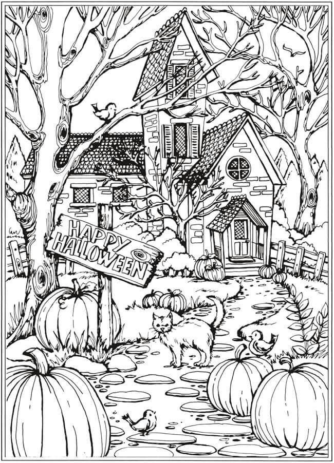 Pin By Shari Lucas On Colouring Halloween Coloring Fall Coloring Pages Halloween Coloring Sheets