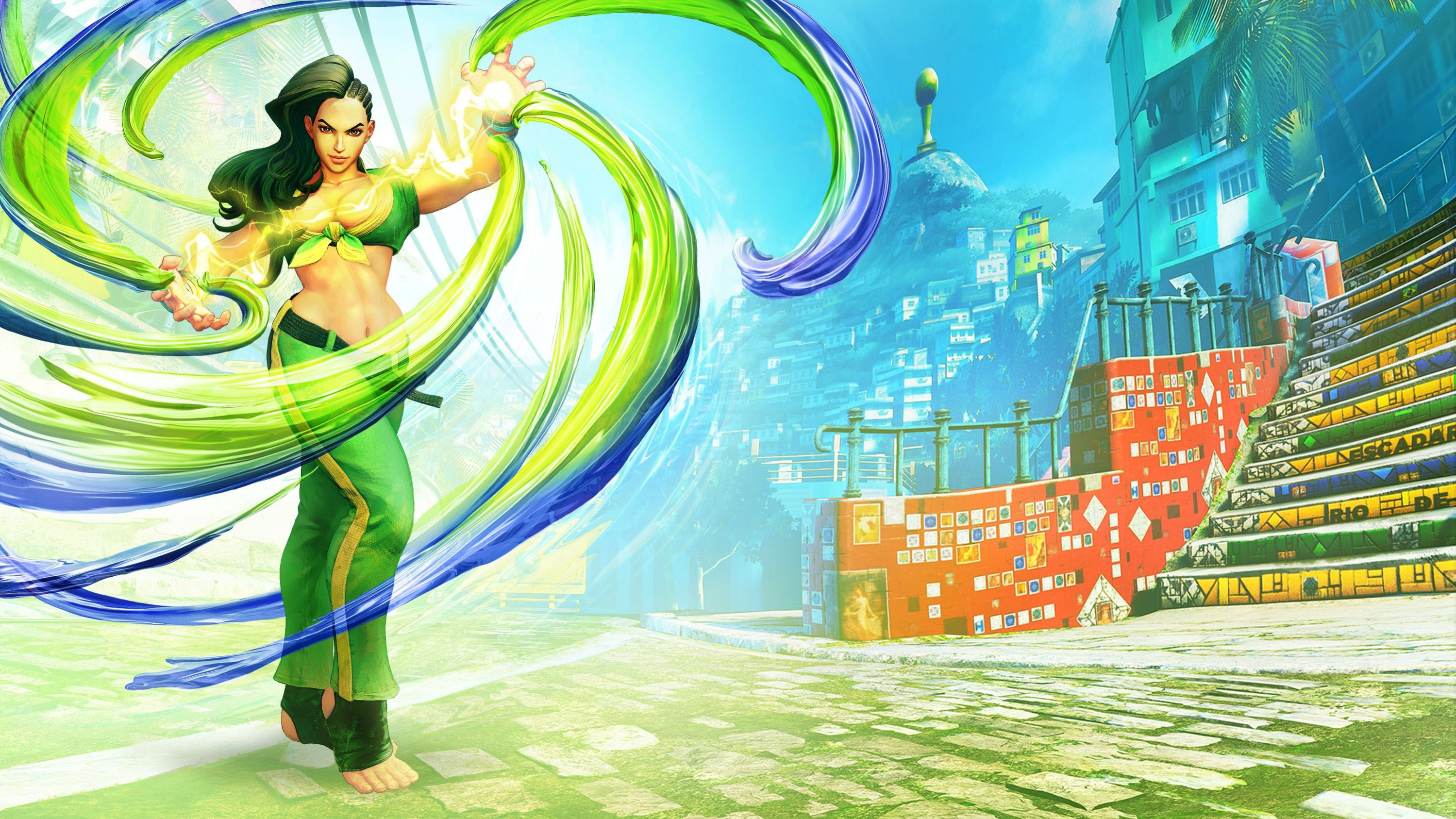 Street Fighter V Official Game Art Wallpapers Character